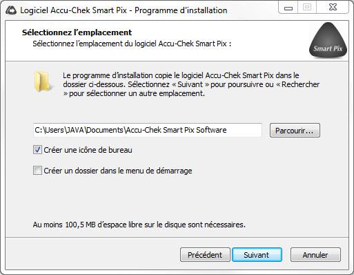 logiciel accu chek mobile